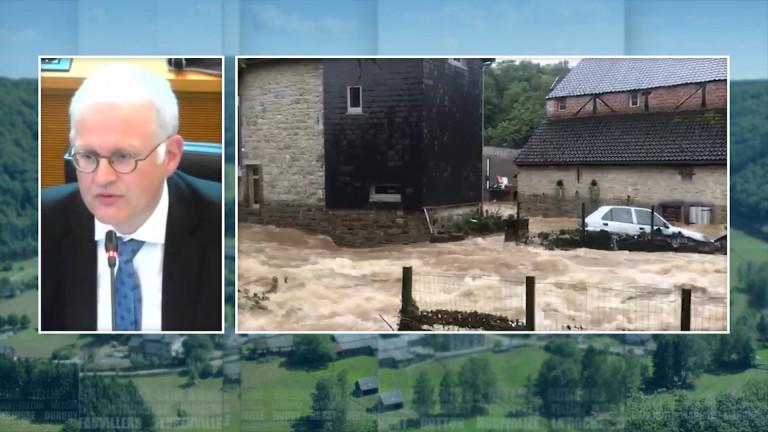 Inondations. Le Gouverneur pointe le manque d'analyse des prévisions météo