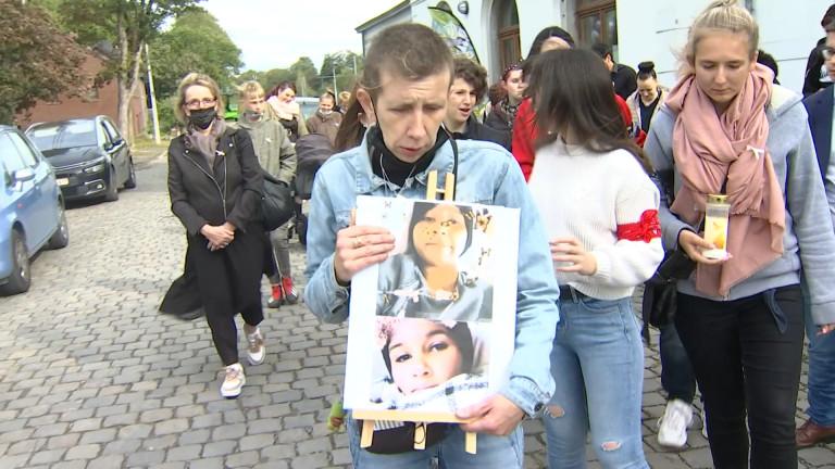 Marche : les amis d'Iman rendent hommage à son courage face à la maladie