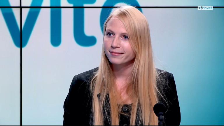 Mélissa Hanus, présidente du PS Luxembourg