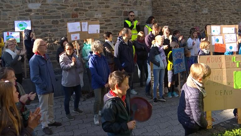 Bertogne : 80 personnes ont fait du bruit pour le climat