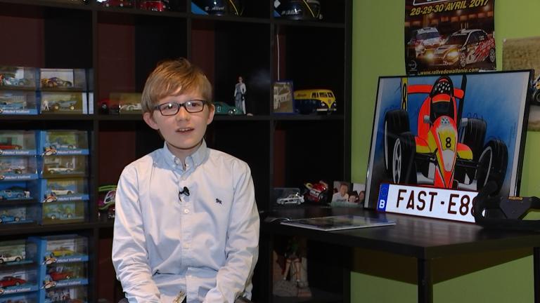Grand Format : à 13 ans, Emilien enchaîne les victoires et rêve des 24H du Mans...