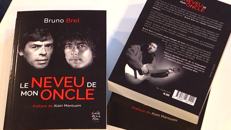 """""""Le neveu de mon oncle"""", autobiographie de Bruno Brel, néo-wellinois"""