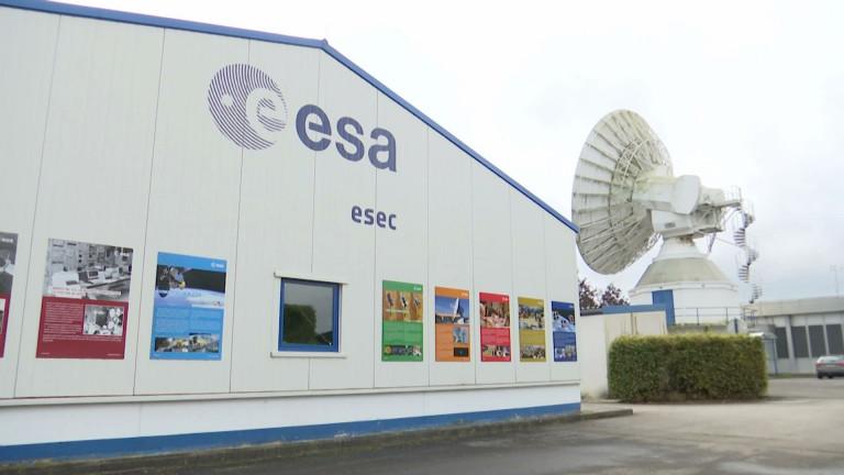 L' ESA à Redu, nouveau pôle de cybersécurité spatiale