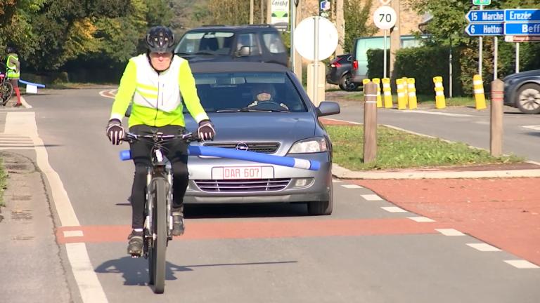 Rendeux : la N833 trop dangereuse pour les cyclistes