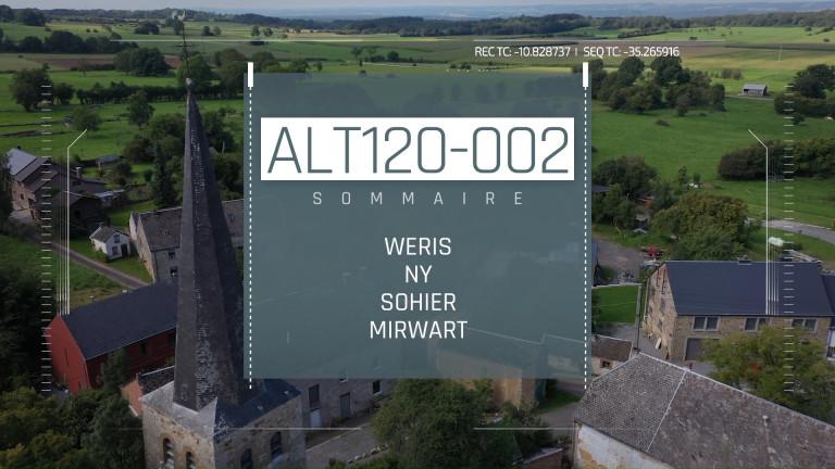 Altitude 120 - #2 : Weris, Ny, Sohier et Mirwart