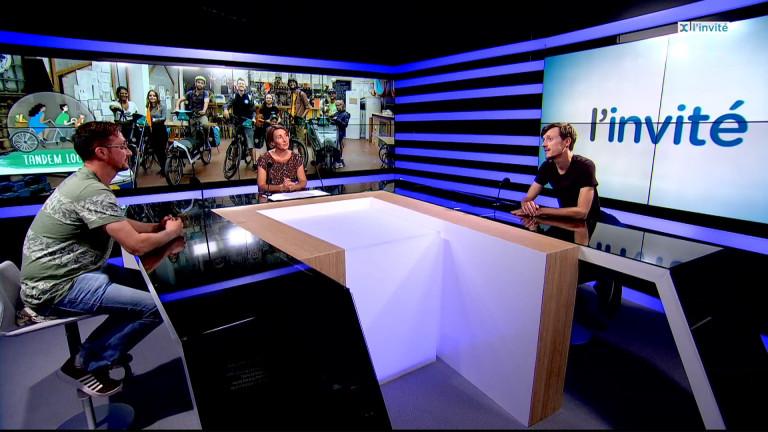 """Ludovic Bollette et François Legrand expliquent leur documentaire """"Tandem local"""""""