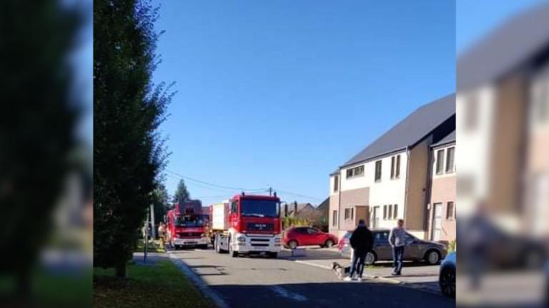 Incendie au rez-de-chaussée d'un appartement à Recogne